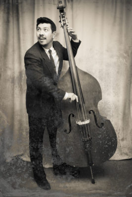 Commercial Photography, Music Photography, Musicians, Hot Baked Goods, Alex Fernandez, Upright Bass, Double Bass Player, Auey Santos Photography